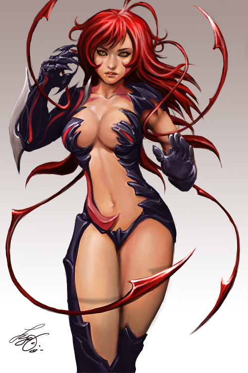 Witchblade Amaha Masane by kamillyonsiya