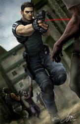 Resident Evil 5 by kamillyonsiya