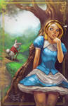 The White Rabbit and Alice