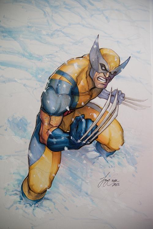 Wolverine Copic by kamillyonsiya