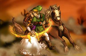 The Legend Of Zelda by CursedMarked