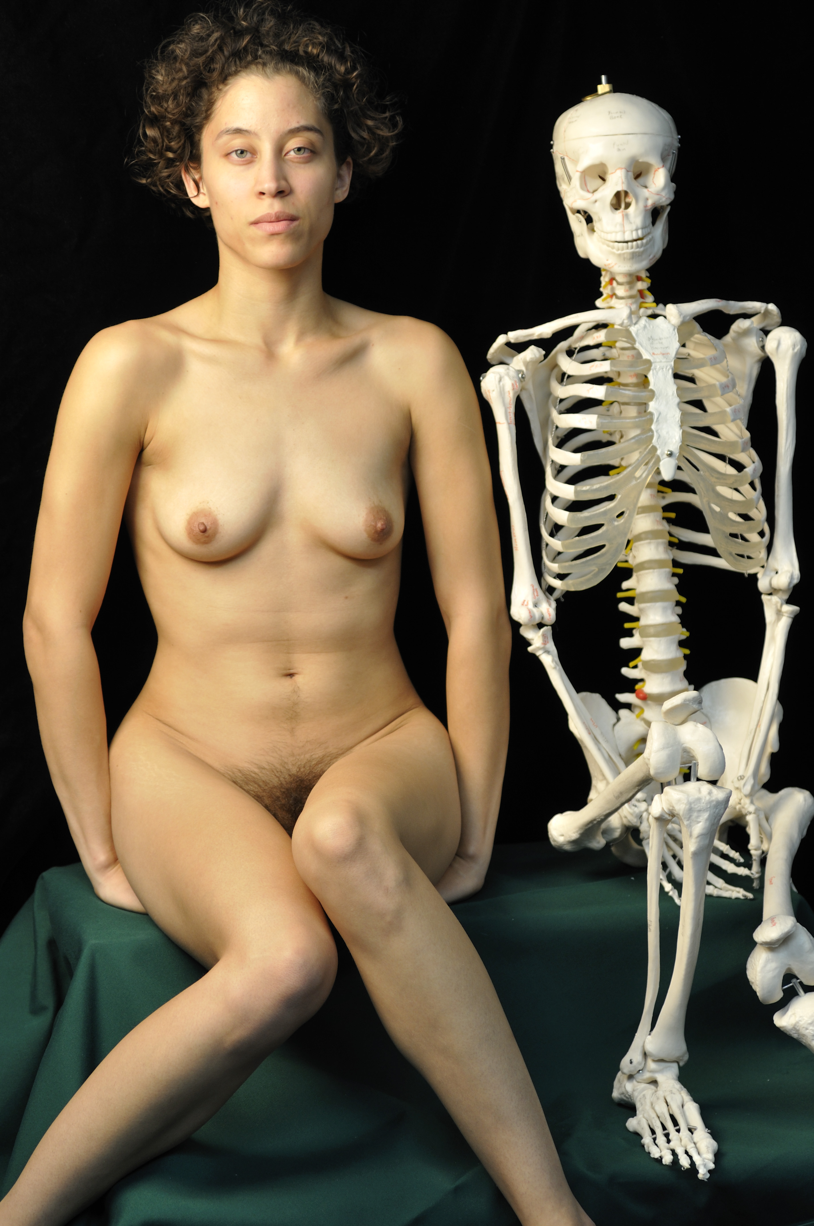 Something Skeleton with naked girl pics opinion you
