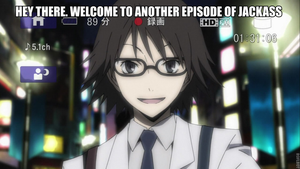What Shinra does on his free time. by EverythingDuRaRaRa