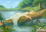 Meryan at the Lake