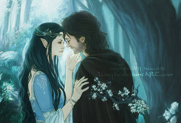 Beren and Luthien by Heylenne