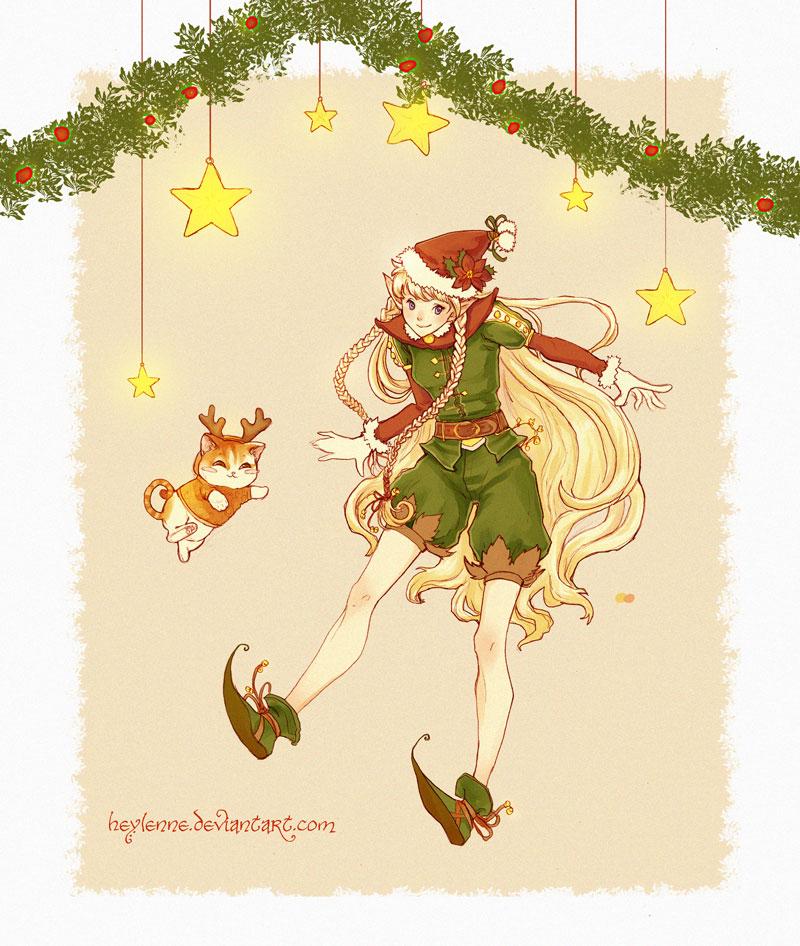 Christmas Elf by Heylenne