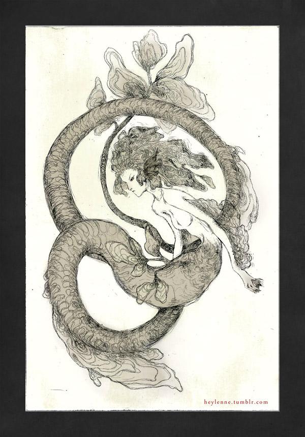 Dragon Fish by Heylenne