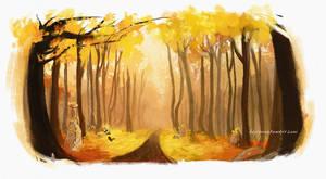 Sleeping Forest by Heylenne