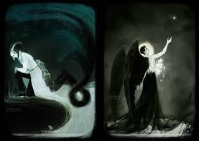 Capricorn + Virgo by Heylenne