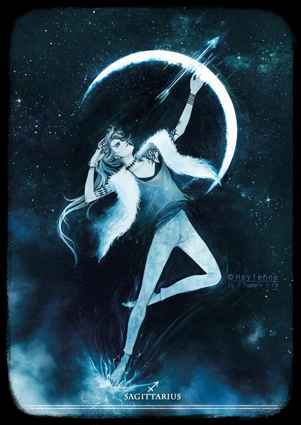sagittarius (new female version)heylenne on deviantart