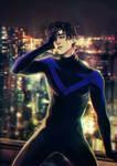 Nightwing by Heylenne