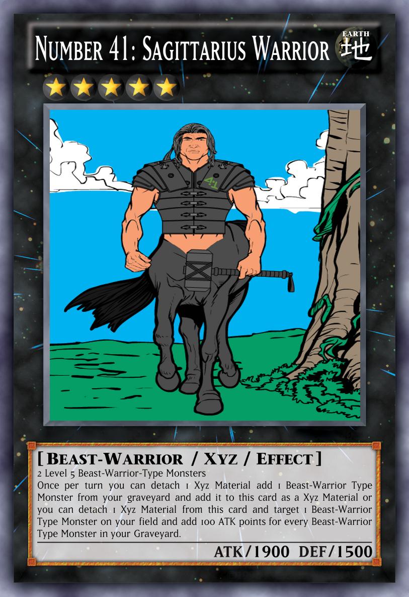 Number 41: Sagittarius Warrior by MarioFanProductions