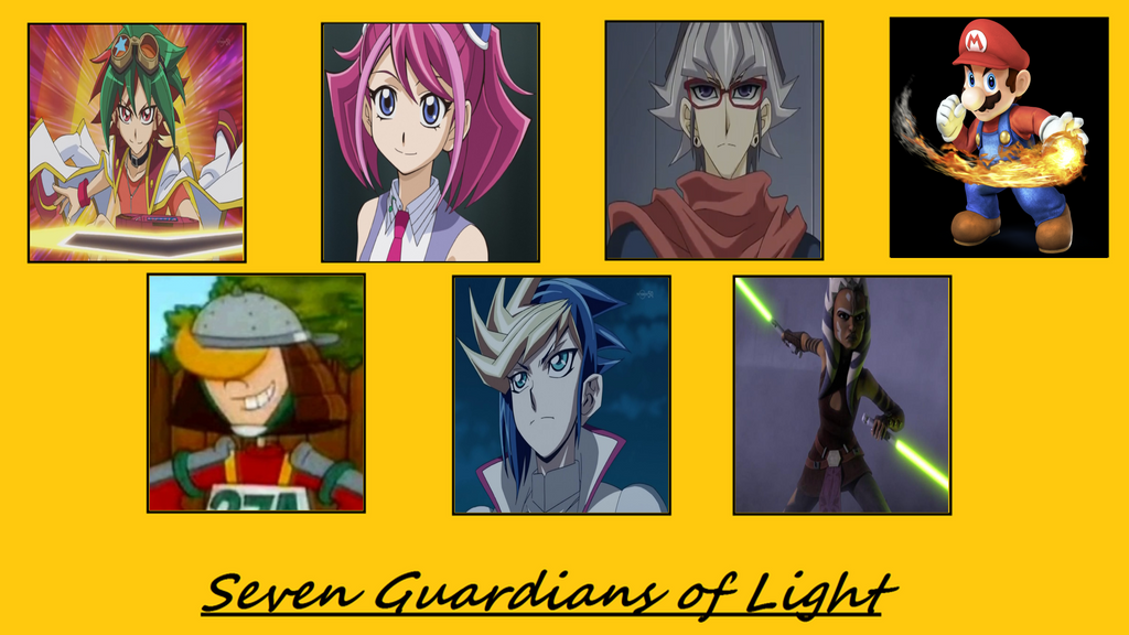 Mythic Hearts: The 7 Guardians of Light by MarioFanProductions