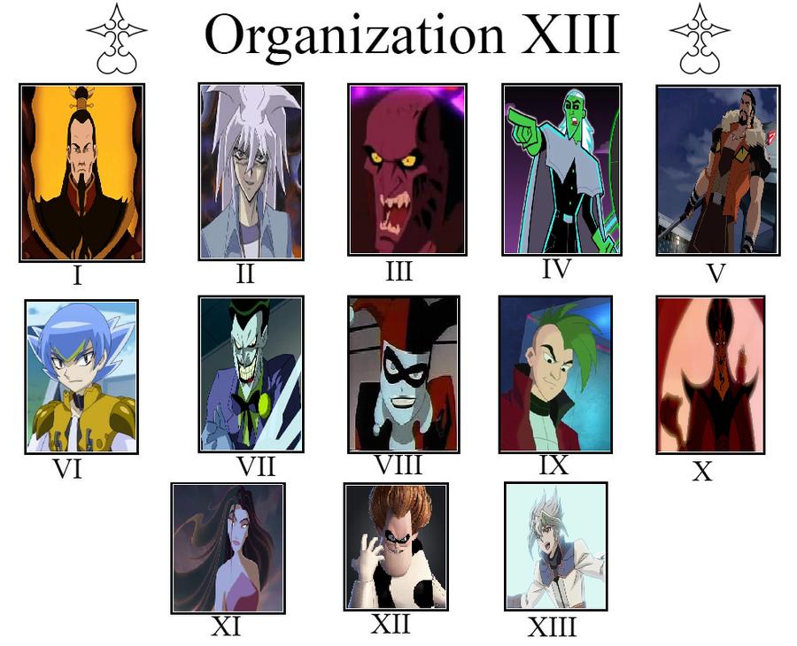 My Organization XIII Meme by MarioFanProductions