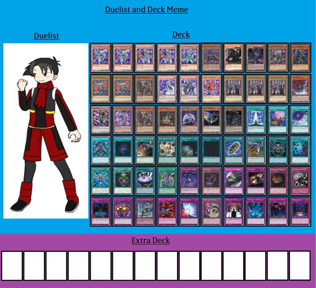 Deck and Duelist - Jalsen Darkmore by MarioFanProductions