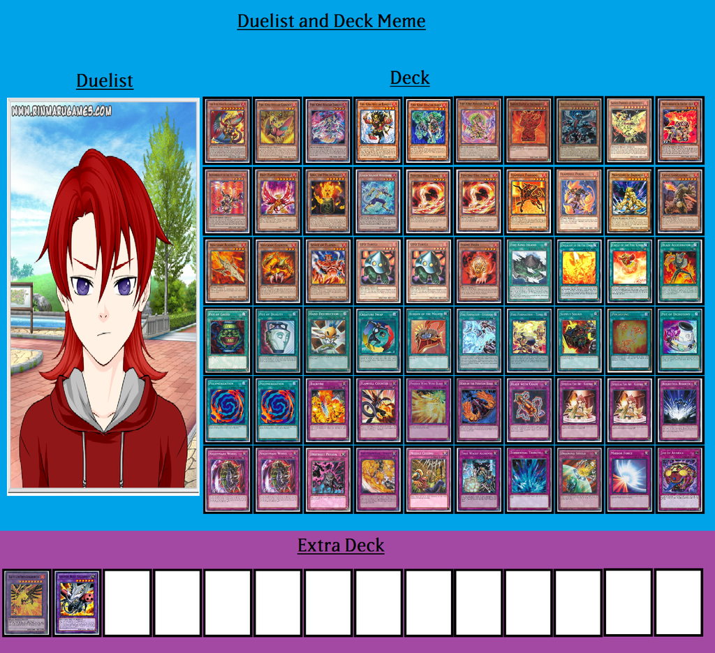 Deck and Duelist - Arron Zann by MarioFanProductions