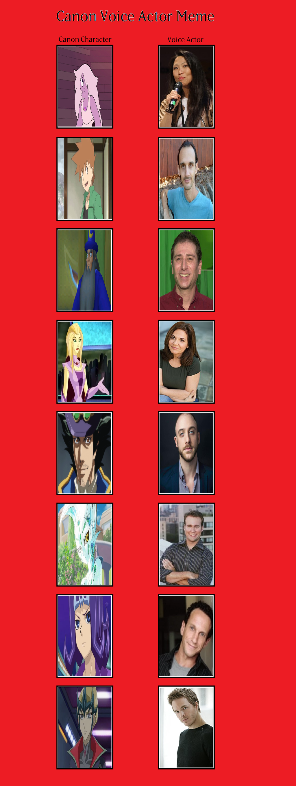 Canon Voice Actors (Freedom Protectors) pt.3 by MarioFanProductions