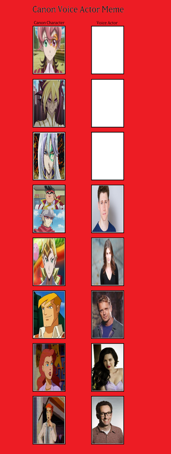 Canon Voice Actors (Freedom Protectors) pt.4 by MarioFanProductions