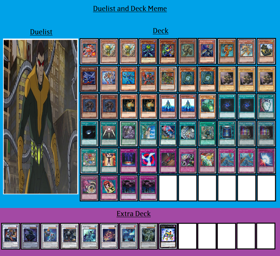 Deck and Duelist - Doctor Octopus by MarioFanProductions