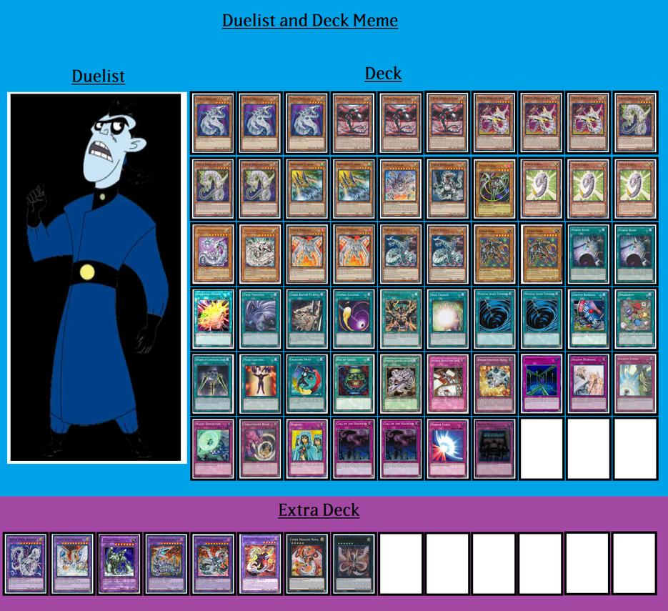 Deck and Duelist - Drakken by MarioFanProductions