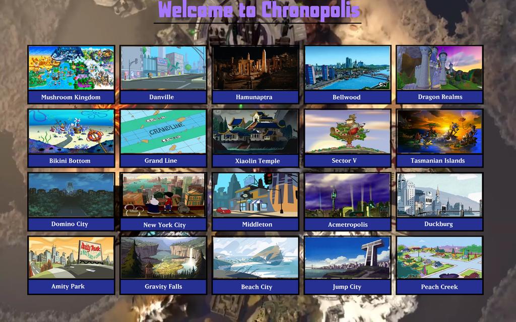 My Chronopolis by MarioFanProductions