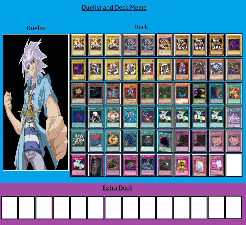 Duelist and Deck - Yami Bakura by Yu-Gi-OhV35 on DeviantArt
