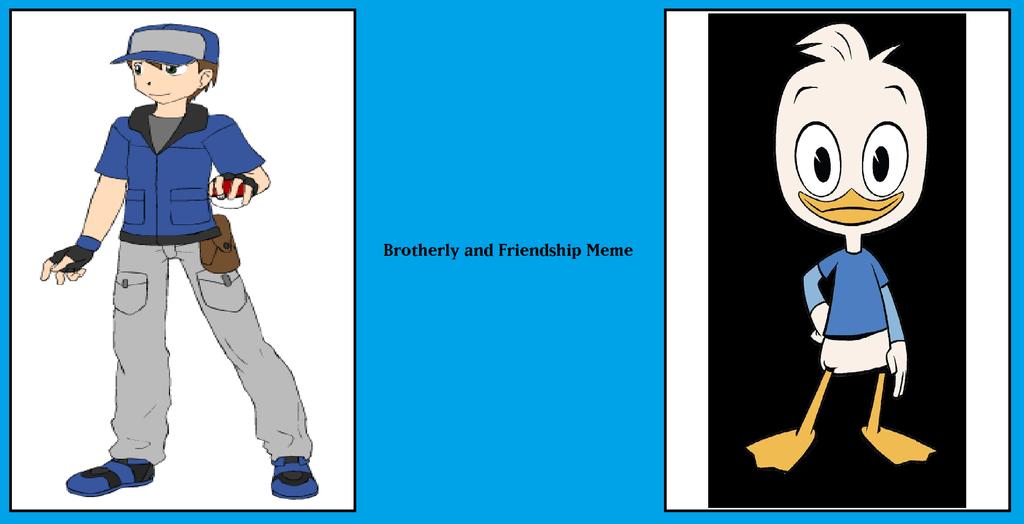 Brotherly Friendship - Jason and Dewey by MarioFanProductions