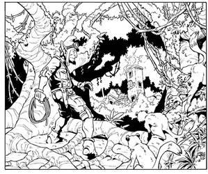 Goblin Treasure Hunter by Steevcomix