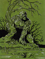 Swamp Thing by Steevcomix