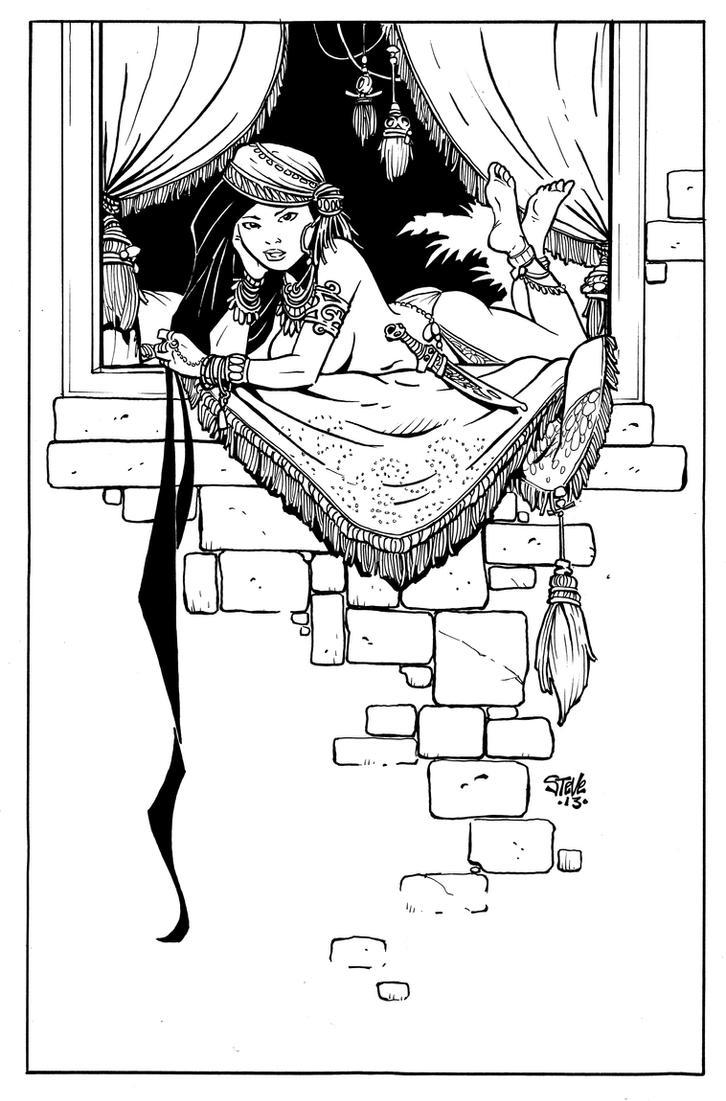 Rapunzel by Steevcomix