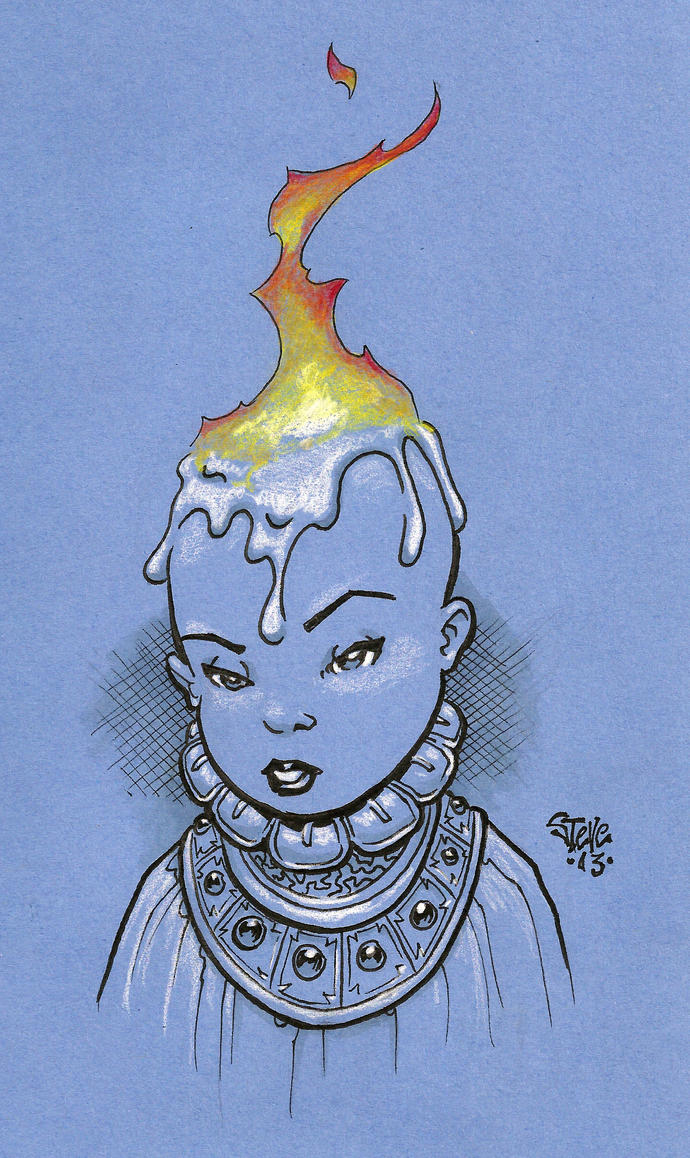 Candle Girl by Steevcomix