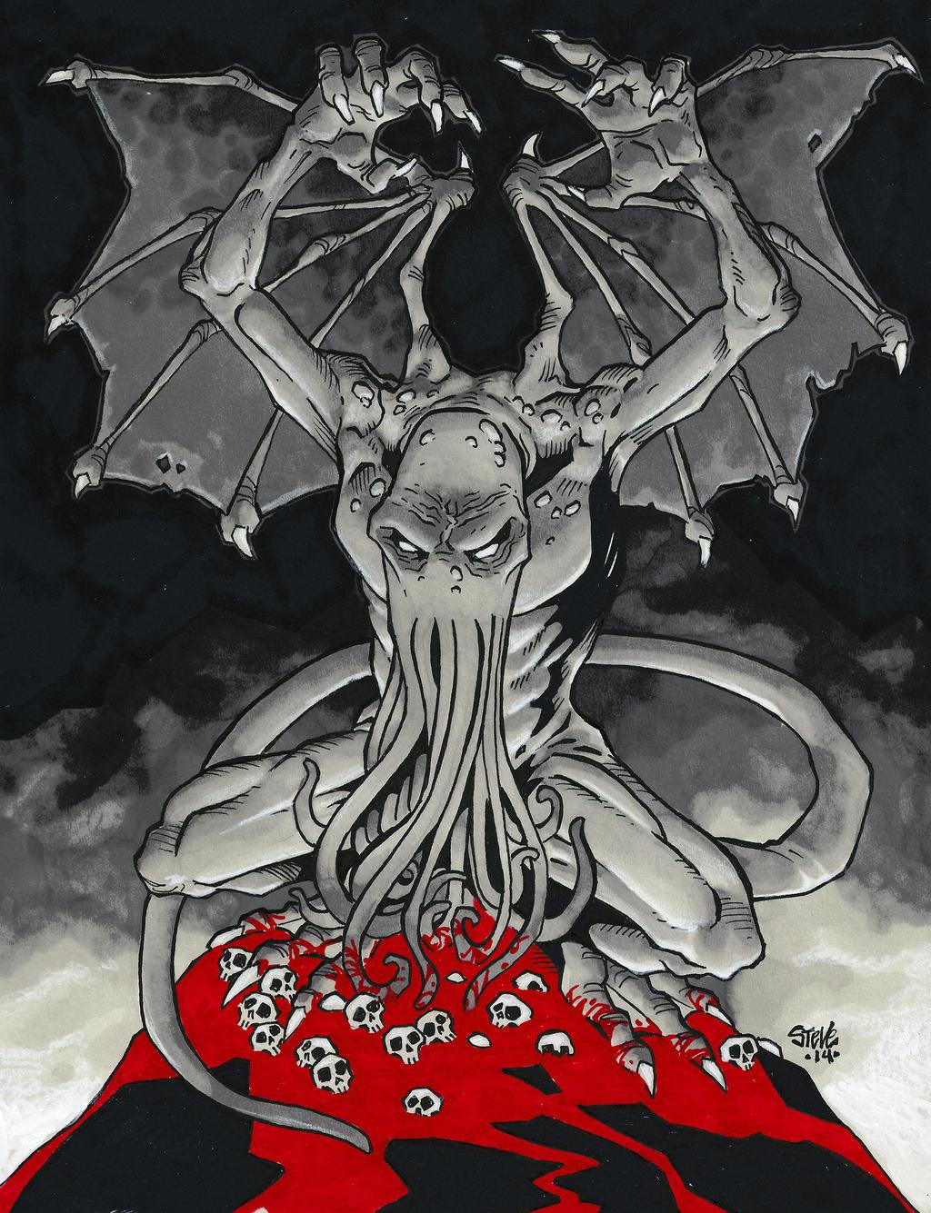 Cthulhu by Steevcomix