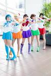 Sailor Scouts - Strike a Pose