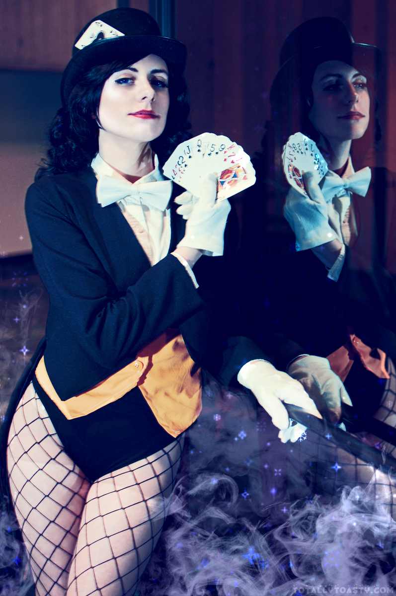 Pick A Card, Any Card - Zatanna Zatara by AmeZaRain