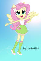 Fluttershy - high fly by sumin6301
