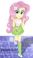Fluttershy - Dancing - PNG by sumin6301