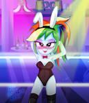 MLP - RainbowDash - Bunny girl costume,