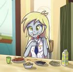 Derpy Hooves - eating