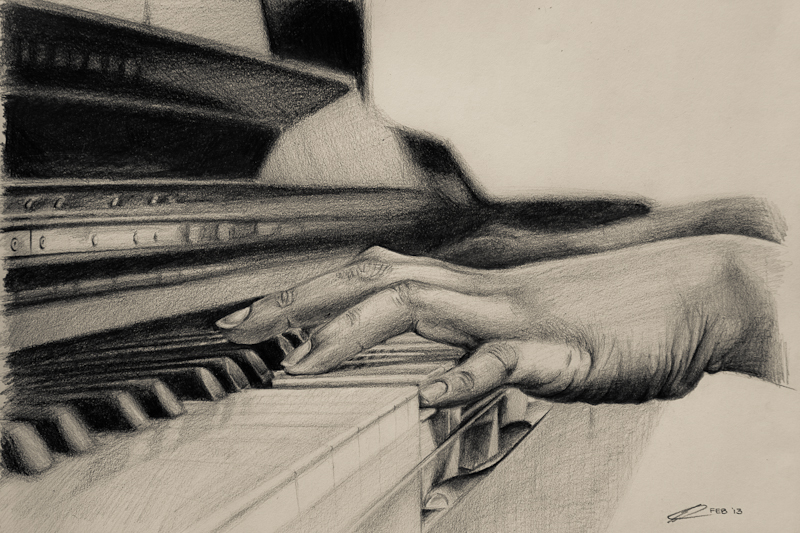 Playing the piano by kiwikid888 on DeviantArt