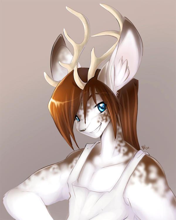 Kemix the deer by Edheloth