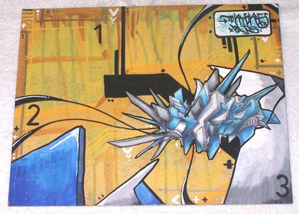 3d painting... by forsaken1-