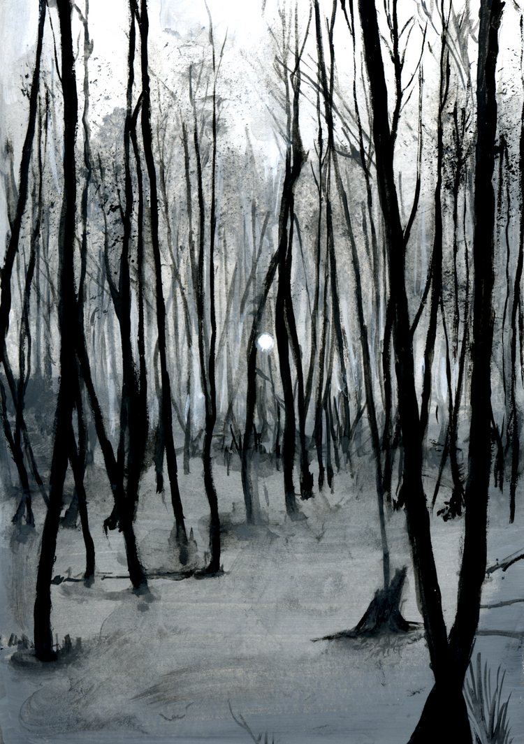Ivan's Childhood - The Woods by SpeakLike-a-Child
