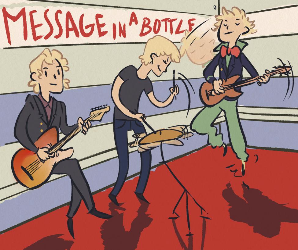 Message in a bottle by SpeakLike-a-Child