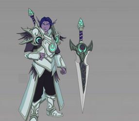 [Skin Idea] Priest Of The Moon Anduin
