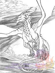 Soaring Dragon by VKahri