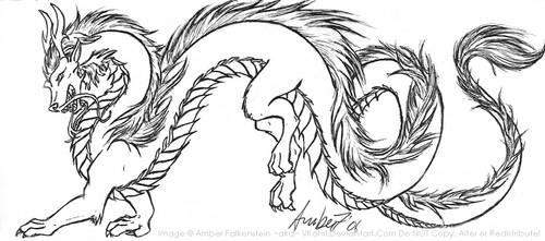 playfull dragon by VKahri