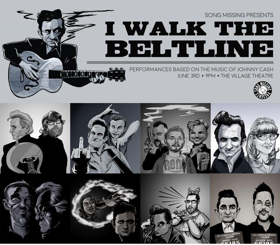 I Walk the Beltline by borogove13