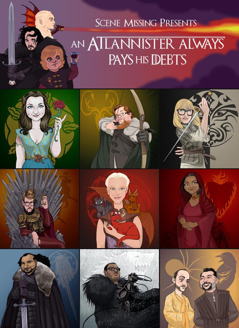 Game Of Thrones Art for Scene Missing by borogove13
