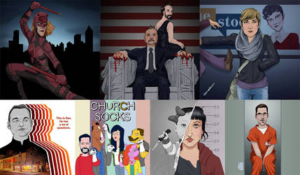Netflix Artwork for Scene Missing by borogove13
