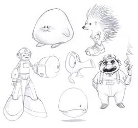 Video Game Icons 01